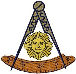 Master Mason embroidery design