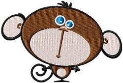 Minkey Monkey embroidery design