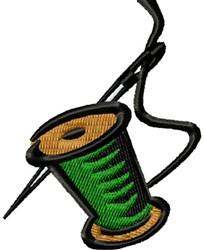 Needle & Spool embroidery design