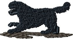 Newfoundland Dog embroidery design