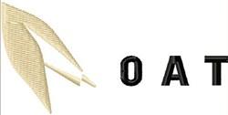 Oat Logo embroidery design