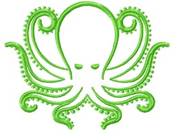 Octopus embroidery design