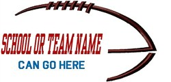 Add Team Name embroidery design