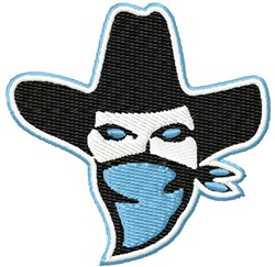 Outlaw Bandit embroidery design
