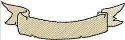 Worn Banner Lower 2 embroidery design