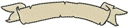 Worn Banner Upper 2 embroidery design