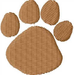 Animal Paw embroidery design