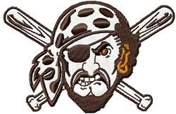 Pirate embroidery design