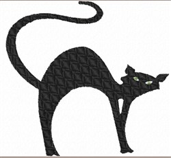Quilted Kitty embroidery design