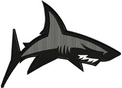 Shark 2 embroidery design