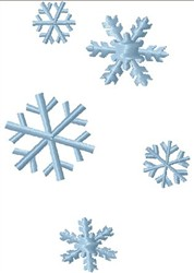 Snowfllakes embroidery design