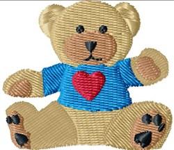 Freddy Teddy embroidery design