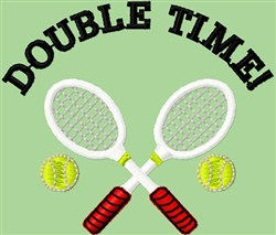Double Time! embroidery design