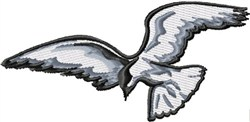 Flying Tern embroidery design