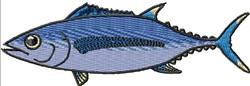 Tuna embroidery design