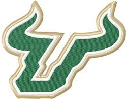 Bull Horns embroidery design