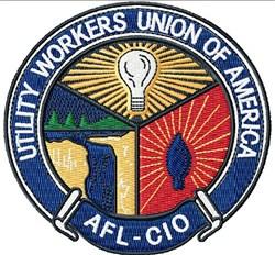 AFL-CIO Union embroidery design