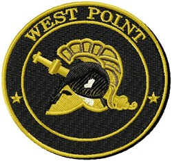 West Point embroidery design