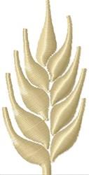 Wheat Stalk embroidery design
