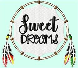 Dreamcatcher Sweet embroidery design