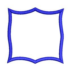 Applique Picture Frame embroidery design
