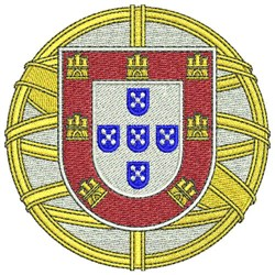 Portugal Coat Of Arms embroidery design