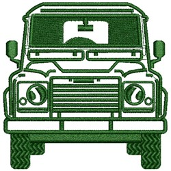 4X4 Auto embroidery design