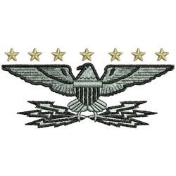 Eagle Insigia embroidery design
