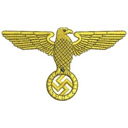 Nazi Eagle embroidery design