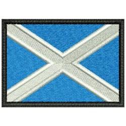 Flag Of Scotland embroidery design