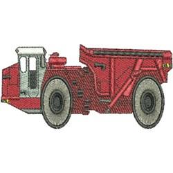 Mine Truck embroidery design