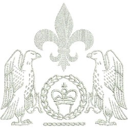 Heraldic Crests embroidery design