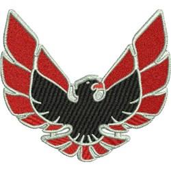1970 Firebird Decal embroidery design
