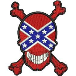 American Rebel embroidery design