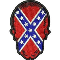 American Rebel Patch embroidery design