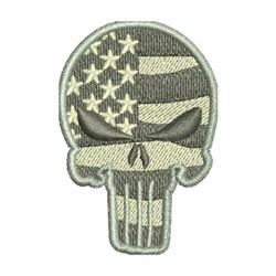 US MILITARY PUNISHER embroidery design