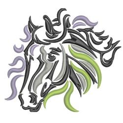 Dreamy Horse Head embroidery design