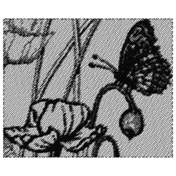 Butterfly Poppies embroidery design