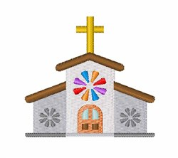 Church embroidery design