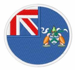 Ascension Island Flag embroidery design