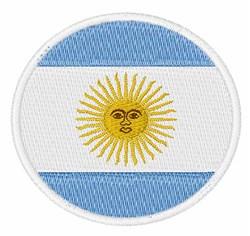 Argentina Flag embroidery design