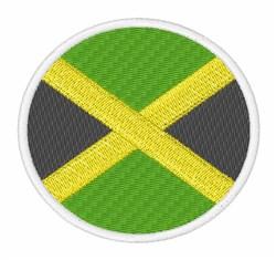 Jamaica Flag embroidery design