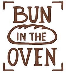 Bun In The Oven embroidery design