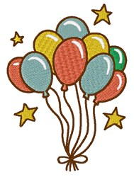 Balloon Bouquet embroidery design