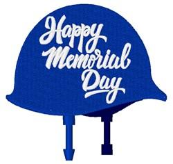 Memorial Day Helmet embroidery design