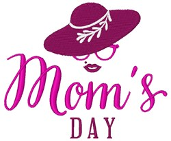 Mom's Day embroidery design