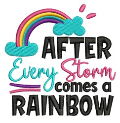 After Every Storm embroidery design