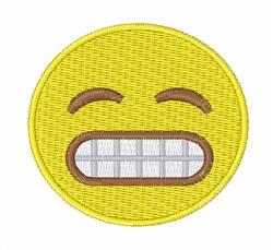 Grin Emoji Embroidery Designs Machine Embroidery Designs At EmbroideryDesigns.com