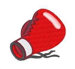 Boxing Glove embroidery design