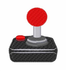 Joystick embroidery design